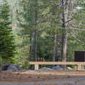 Sites are equipped with bear boxes, grills, and picnic tables.- Silver Creek Campground