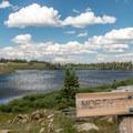 North Twin Lakes.- Twin Lakes Hike via Sheep Lake Trail