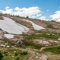 This trail is scenic and easy.- Twin Lakes Hike via Sheep Lake Trail