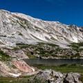 Klondike Lake.- Medicine Bow Peak via Lewis Lake Trailhead