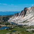 Climbing higher...- Medicine Bow Peak via Lewis Lake Trailhead