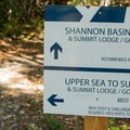 There are two options for the final ascent.- Sea to Summit Hike