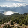 View from the top of the Sea to Sky gondola. - Sea to Summit Hike
