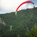 Paragliding from the top of the Grouse Mountain.- The Grouse Grind + Goat Ridge