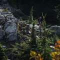 Beautiful colors in the alpine.- The Grouse Grind + Goat Ridge