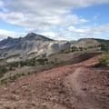 The trail continues on if you'd like to head farther on to the loop through Duck Pass.- Mammoth Crest Trail