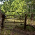 Gate as you hit the Mount Loafer Trail tie-in.- Bennie Creek