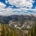 View overlooking Cascade Valley.- John Muir Trail Section 2