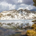 Chief Lake, still partly frozen.- John Muir Trail Section 2