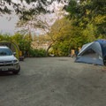 Some site are doubles.- Porteau Cove Provincial Campground