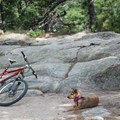 At the top of the summit section of the loop there are great spots to relax for a spell.- Evergreen Mountain Loop