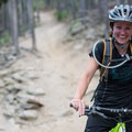 The trail is full of friendly people.- Evergreen Mountain Loop