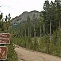 The Twin Sisters Trailhead.- Twin Sisters Peak Hike