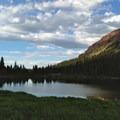 Western shore of Dollar Lake.- Kings Peak