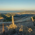 Expansive bay views from the top of Loma Alta.- Loma Alta