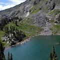 Fancy Lake.- Fancy Pass, Missouri Lakes Loop