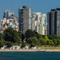 A great spot outdoors within the city.- Sunset Beach + English Bay