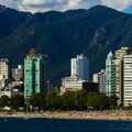 English Bay in Vancouver's west end.- Sunset Beach + English Bay