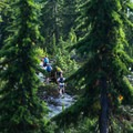 The hike out is steep in places.- The Grouse Grind + Goat Ridge