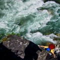 Star Chek. First Pitch above the Cheackamus River.- Star Chek Climbing Route