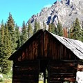 Holy Cross City, an old mining site.- Fancy Pass, Missouri Lakes Loop