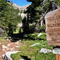 Holy Cross Wilderness.- Fancy Pass, Missouri Lakes Loop