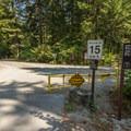 Nairn Falls Campground.- Nairn Falls Campground