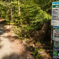 The Sea to Sky Trail passes through the campground and connects with the trails at One Mile Lake.- Nairn Falls Campground