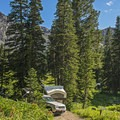 Albion Basin, a beautiful setting to do some camping.- Albion Basin Campground