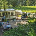 Sites are big enough to hold a small- to medium-sized group.- Albion Basin Campground