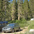 Some of the upper sites.- Albion Basin Campground