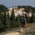Nearly there!- Bumpass Hell