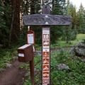 Start of the North Ridge Trail. - Mount of the Holy Cross, North Ridge Route