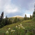 View of the false summit.- Mount of the Holy Cross, North Ridge Route