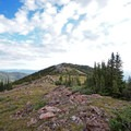 Half Moon Pass.- Mount of the Holy Cross, North Ridge Route