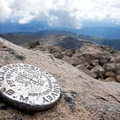 Mount of the Holy Cross summit.- Mount of the Holy Cross, North Ridge Route