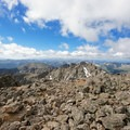 Summit view looking south. - Mount of the Holy Cross, North Ridge Route