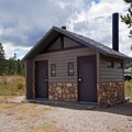 Vail toilets.- Lowry Campground