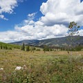 View from Lowry Campground.- Lowry Campground
