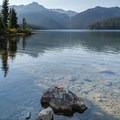 Callaghan Lake.- Ring Lake Trail