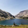 Ring Lake, Ring Mountain.- Ring Lake Trail