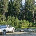 The Ring Lake Trailhead.- Ring Lake Trail
