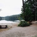 Don't forget to pack a lunch. - Sasamat Lake