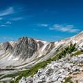 ...and higher.- Medicine Bow Peak via Lewis Lake Trailhead