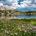 Back to Lewis Lake.- Medicine Bow Peak via Lewis Lake Trailhead