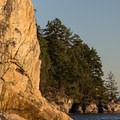 Climbers at Juniper Point.- Lighthouse Park