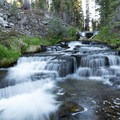 Kings Creek has many great spots right off of the trail. Go exploring!- Kings Creek Falls