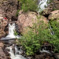Upper Fish Creek Falls.- Upper Fish Creek Falls