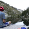 A perfect spot to camp and have a meal.- Alpine Lake