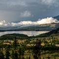 Sunset over Prospector Campground and Dillon Lake.- Prospector Campground